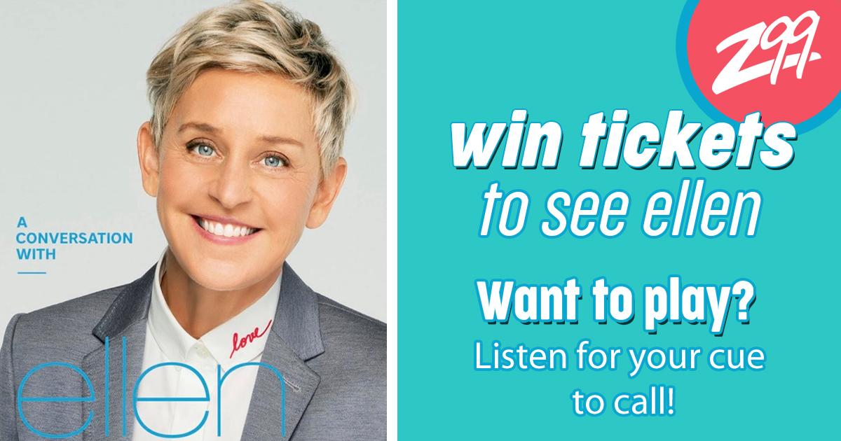 Win your way to Ellen in Calgary!