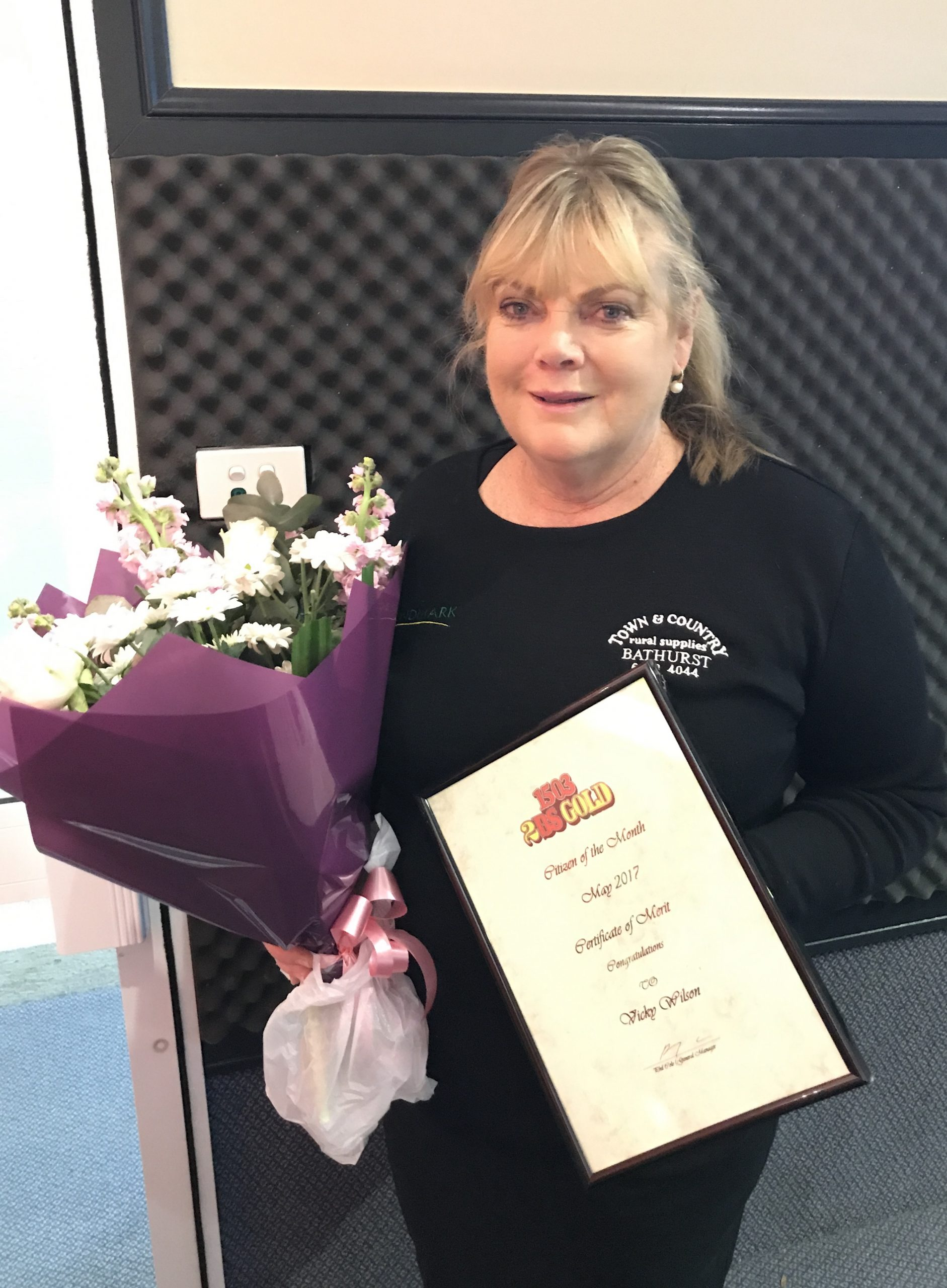 Citizen of the Month for May- Vicky Wilson