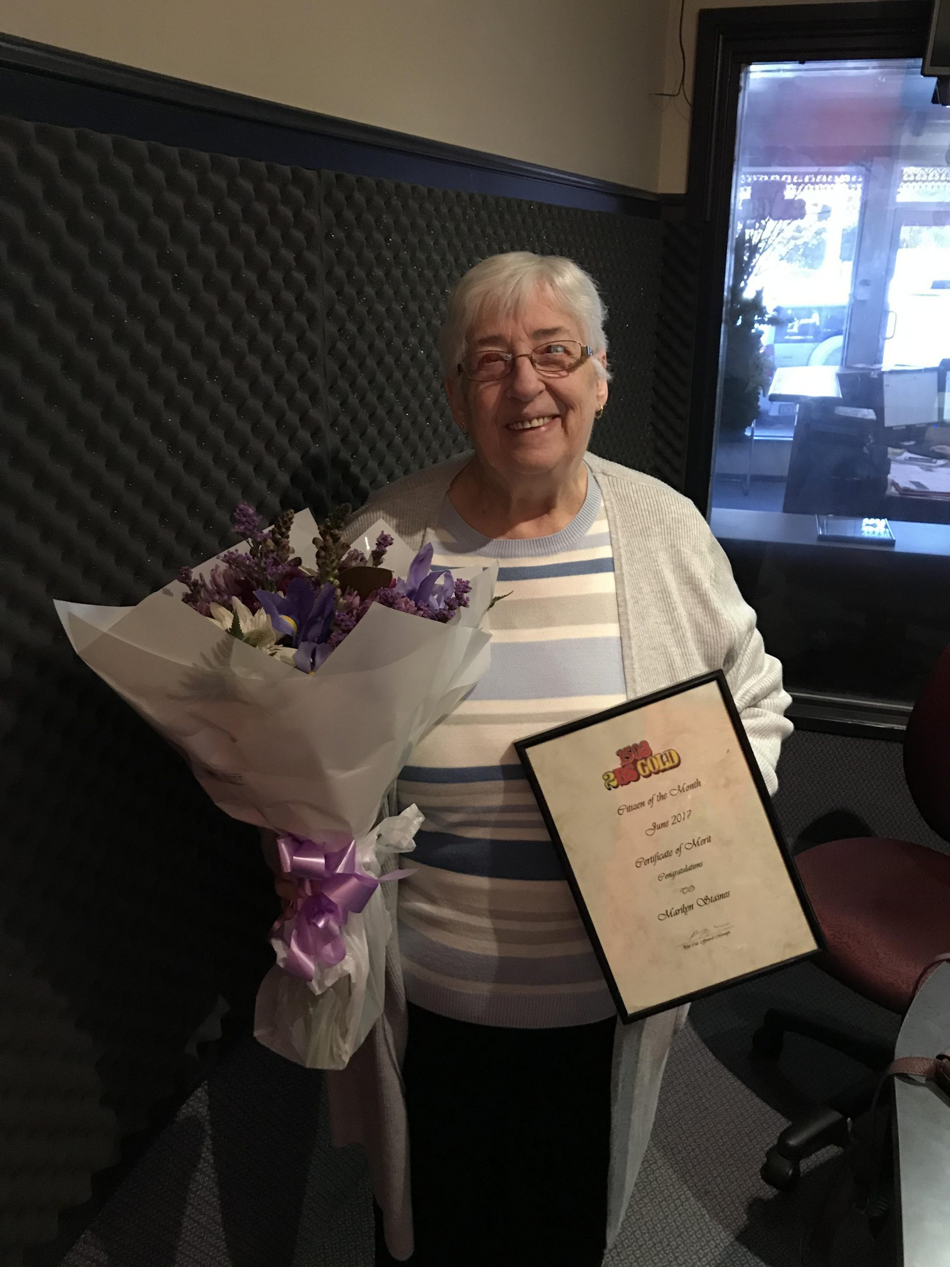 June Citizen of the Month: Marilyn Staines