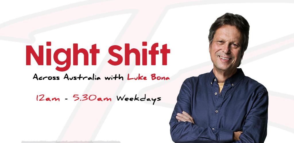 Feature: http://www.brockfm.com.au/the-night-shift-with-luke-bona/