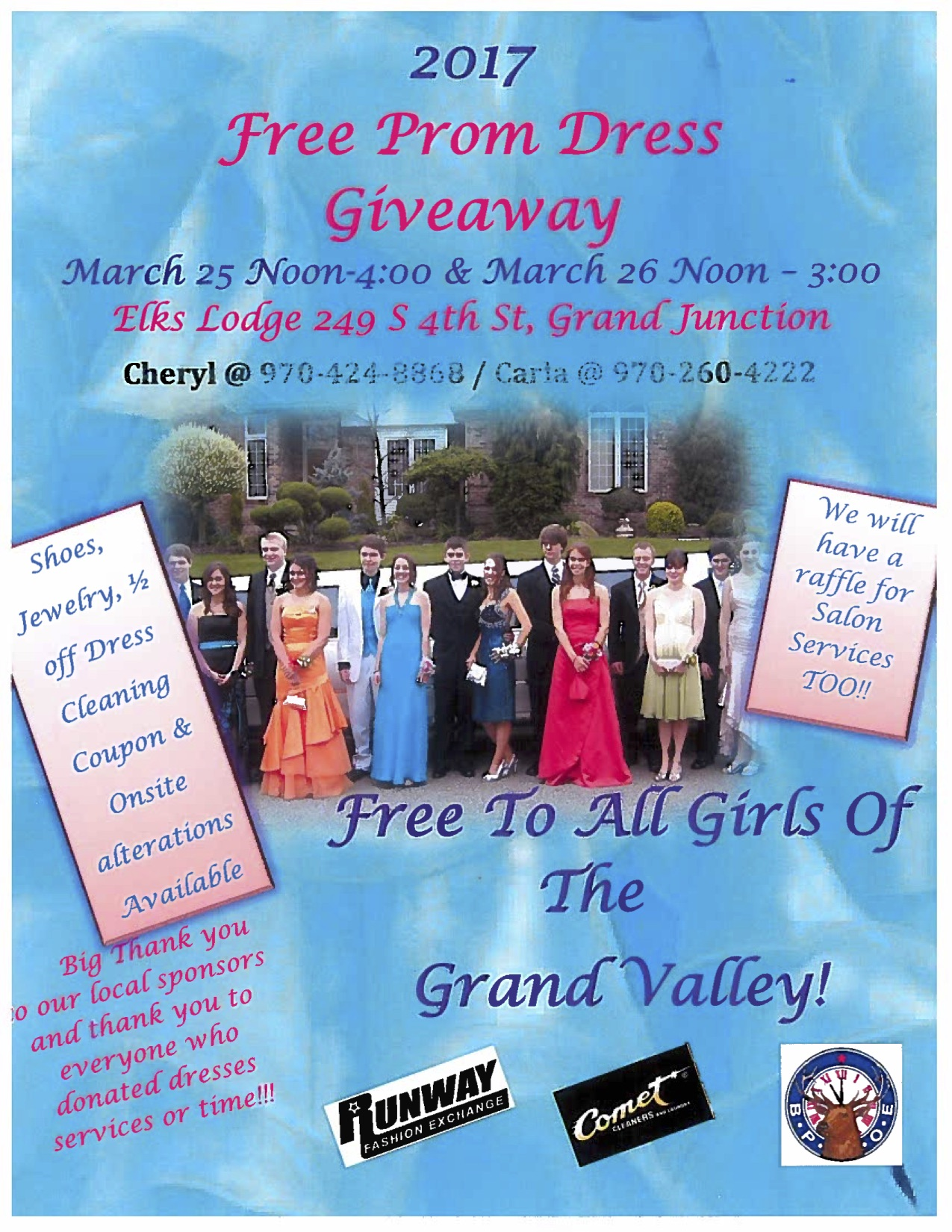 Free Prom Dress Giveaway | 1340 The Team