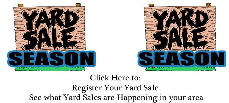Feature: http://www.931magic.com/yard-sale-season/
