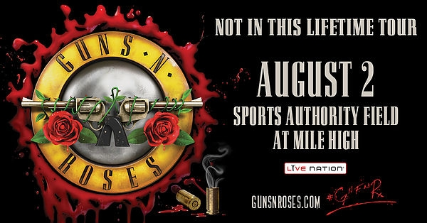 GNR! Grab Your Tickets
