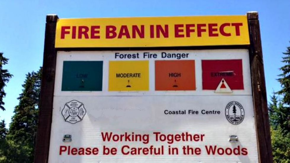 Closure of some recreation areas considered as illegal campfires persist