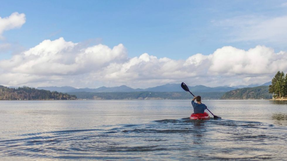 275 km paddling trail officially opens, connecting Vancouver Island and the mainland