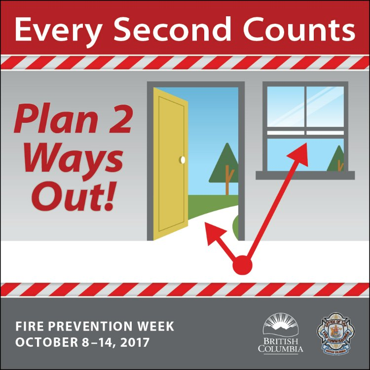 Families urged to come up with fire escape plan