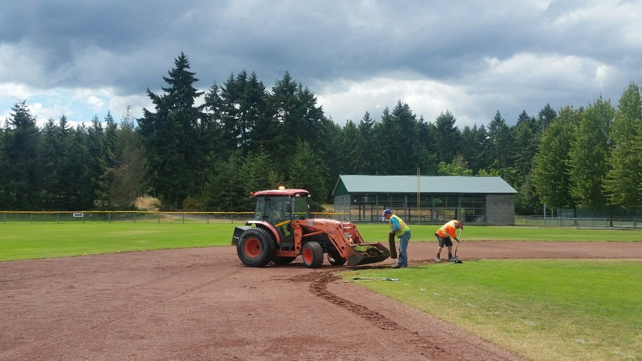 Parksville Council asked to help with upgrades to local ball diamonds