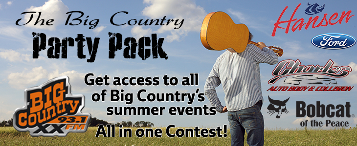 Big Country Party Pack