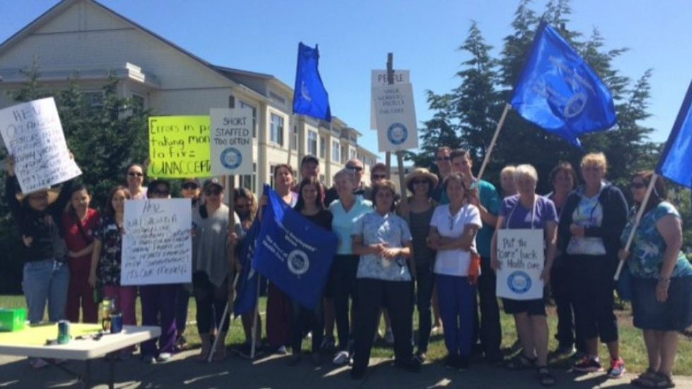 Staff rally over conditions at Parksville seniors care home