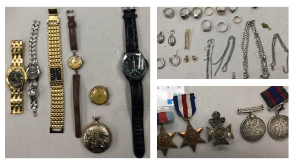 War medals and other suspected stolen valuables found by Nanaimo RCMP