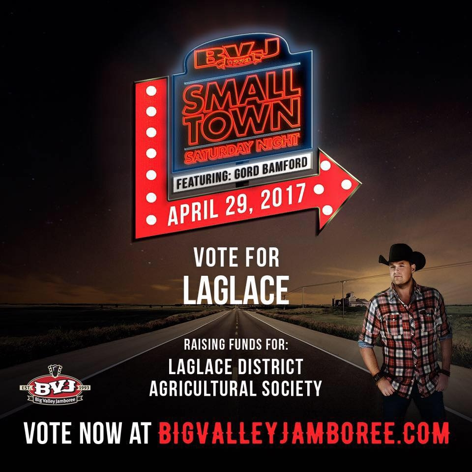 Last day to vote for La Glace in concert contest