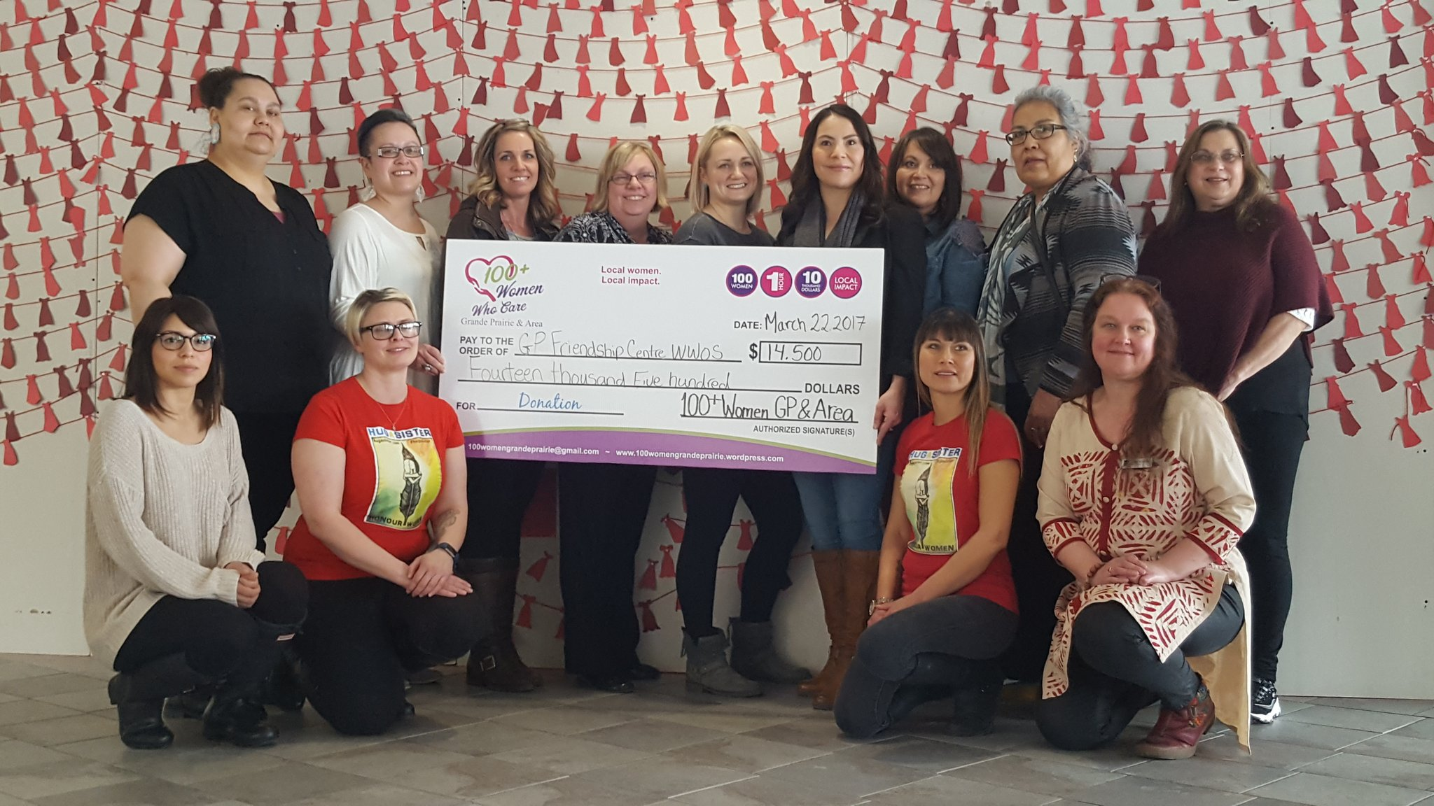 GP Friendship Centre receives $14K donation