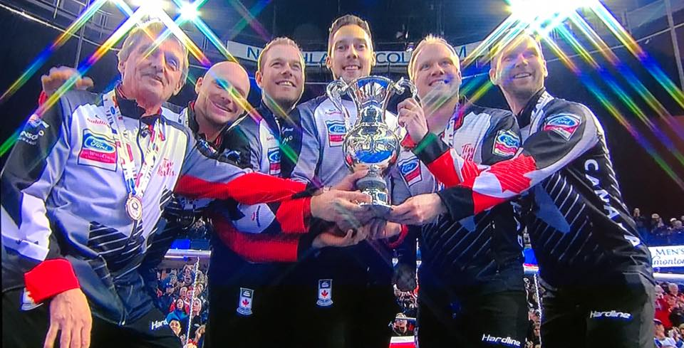 After winning Men's Worlds, Walker and Team Gushue ready for Players' Championship