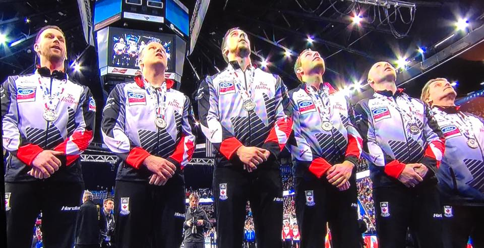 Tom Sallows proud of World Men's Curling Championship gold medal