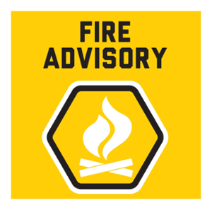Fire Advisory lifted, wildfire hazard dropped to moderate