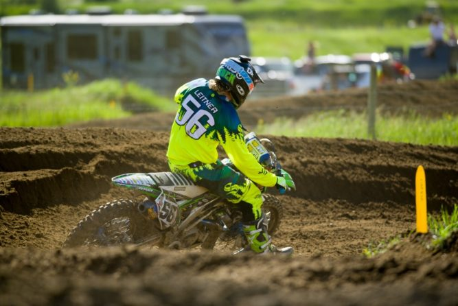 Beaverlodge's Leitner kicks off motocross season