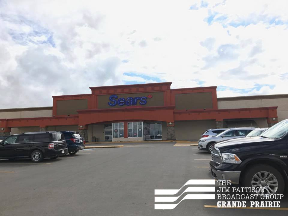 Grande Prairie Sears store among locations closing