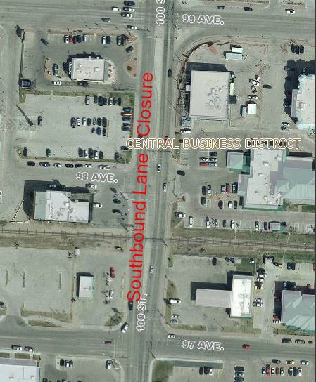 southbound-100st-road-work