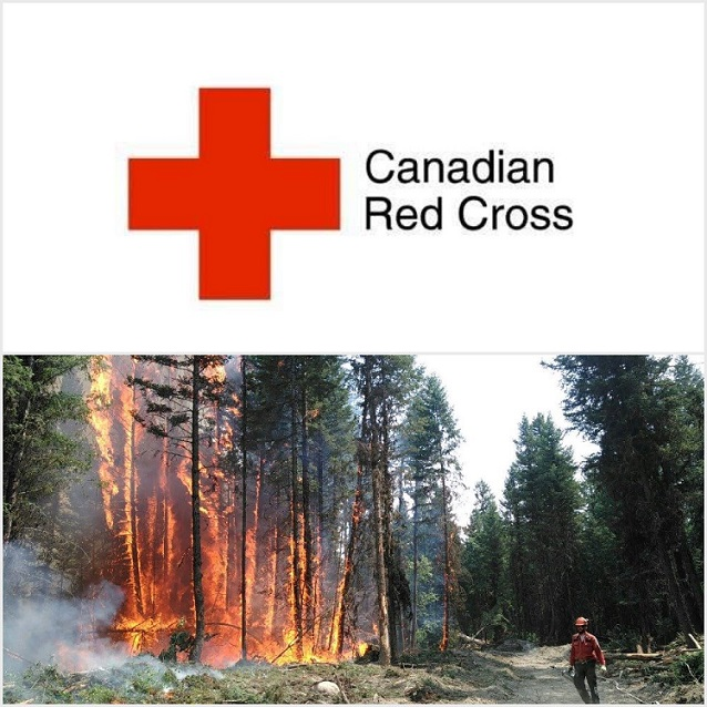 Red Cross encouraging monetary donations for B.C. wildfire evacuees