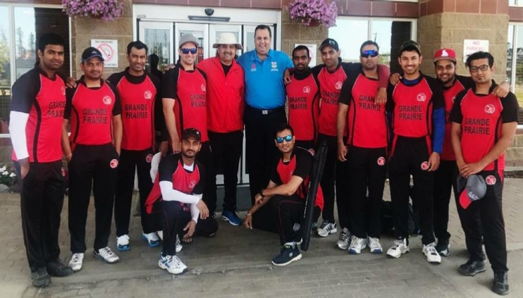 Landmark victory for Grande Prairie Cricket Association at tournament in Fort Mac