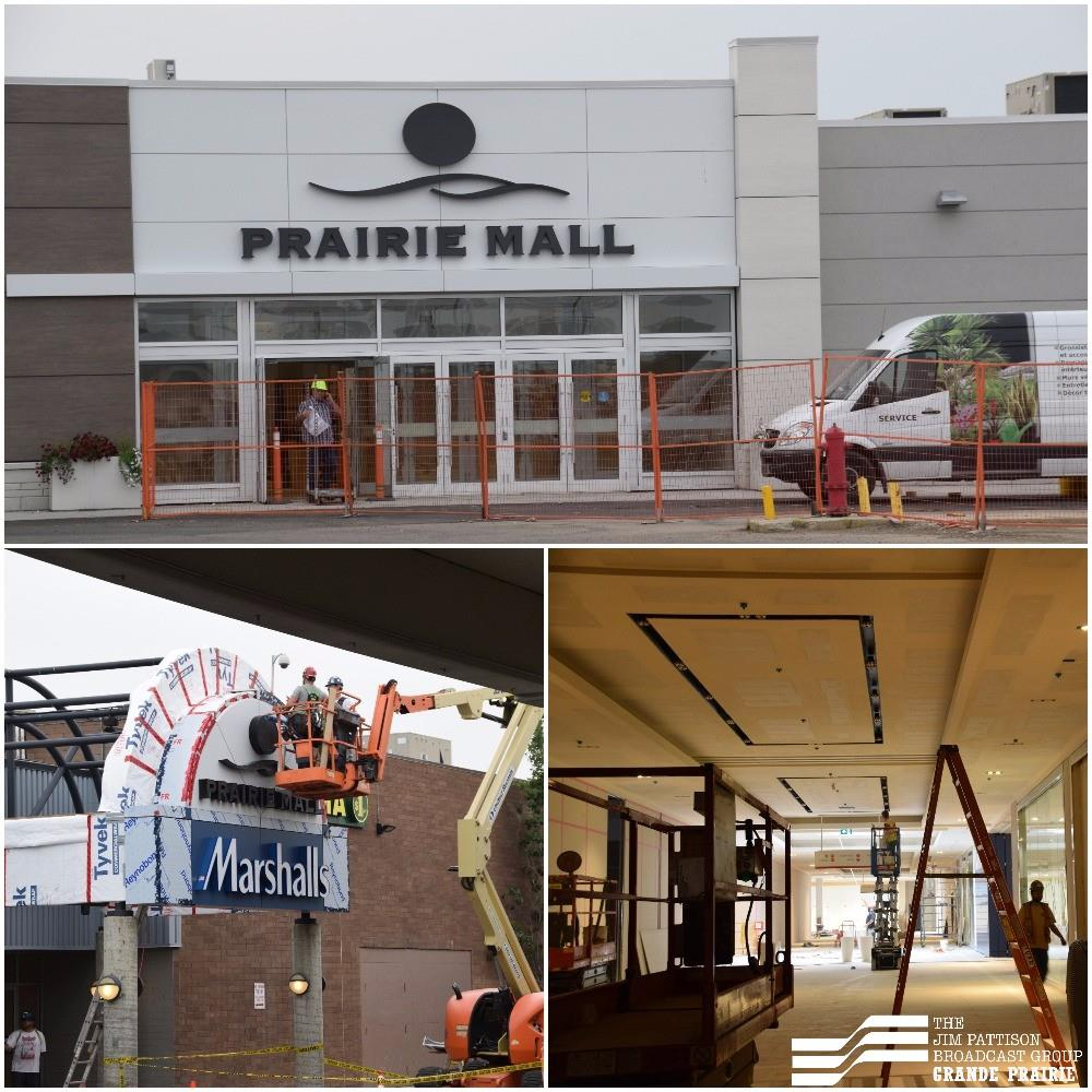 New stores at Prairie Mall getting set to open doors