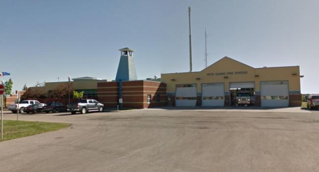 Pete Eager fire hall renovations start today