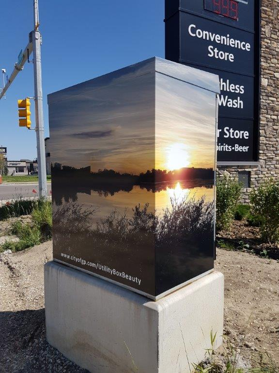 Ten utility boxes in Grande Prairie are now art
