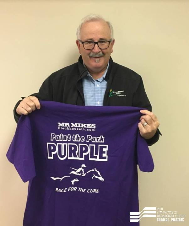 Paint The Park Purple set for Sunday at Evergreen Park