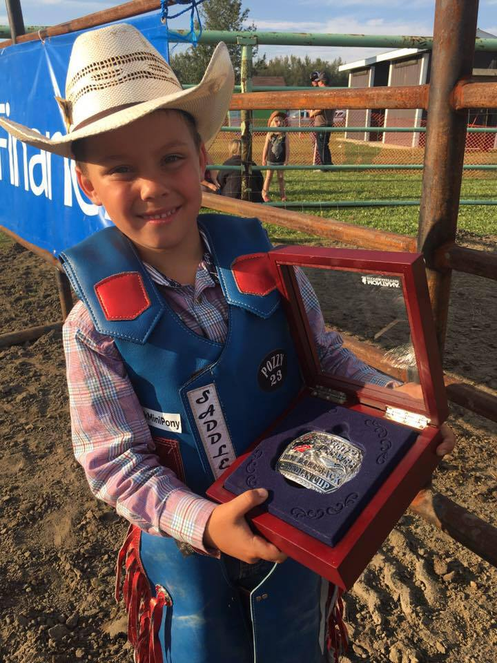 Grande Prairie boy punches ticket to National Finals Rodeo