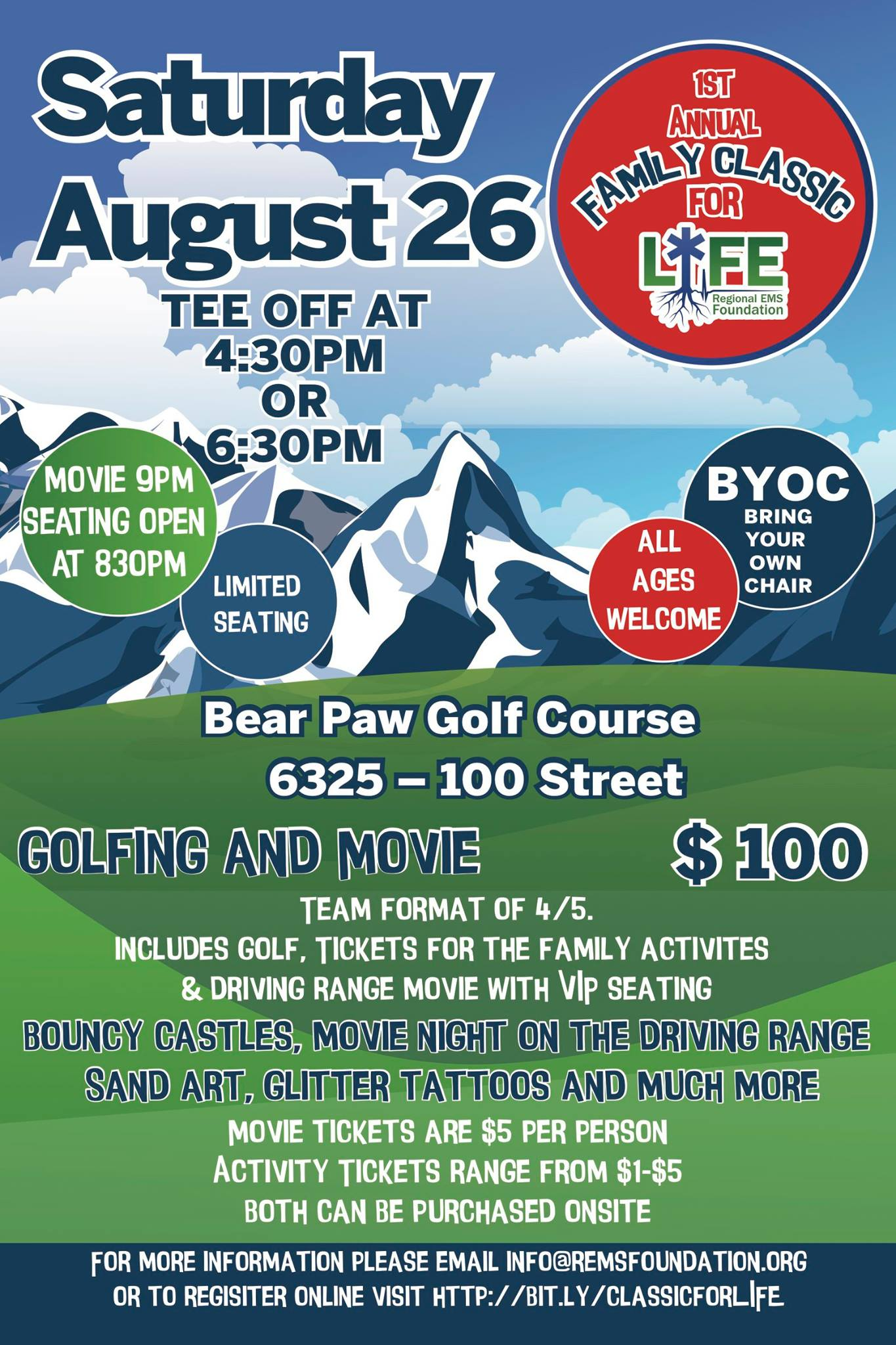 Regional EMS Foundation's Family Classic for Life is this Saturday