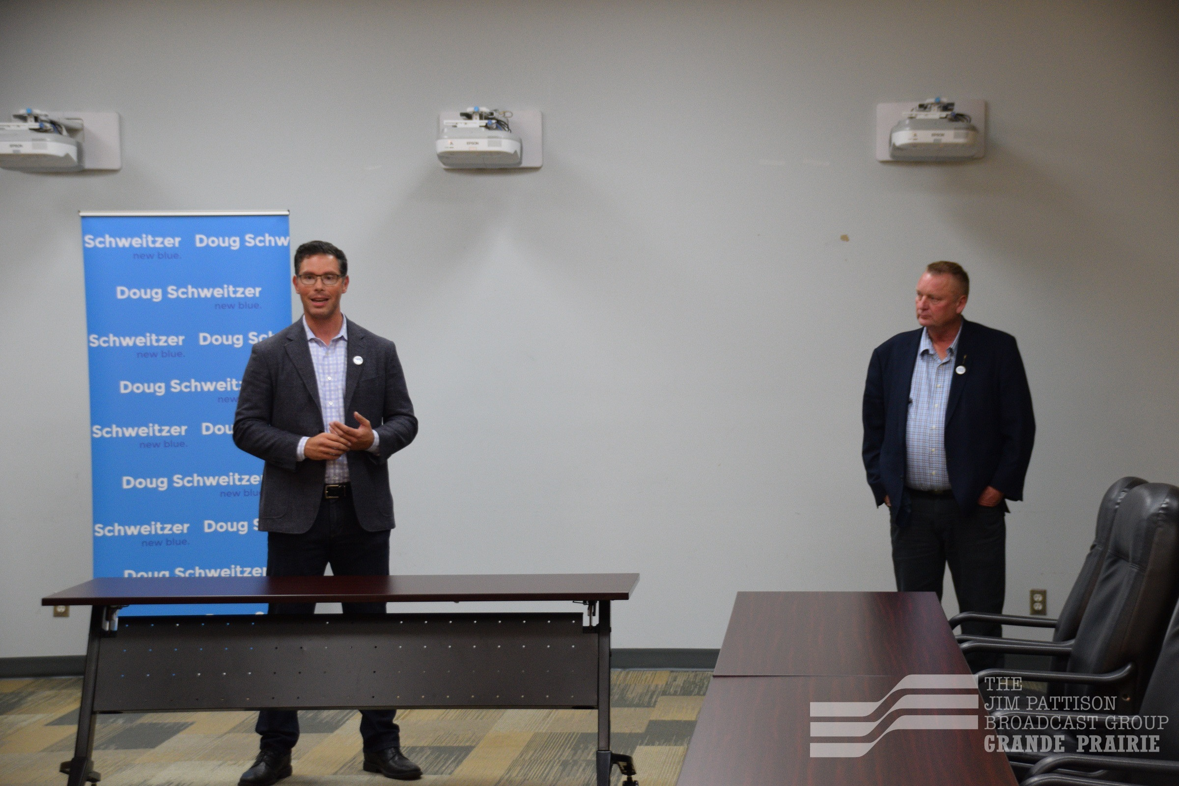 Drysdale backing Schweitzer for UCP leadership