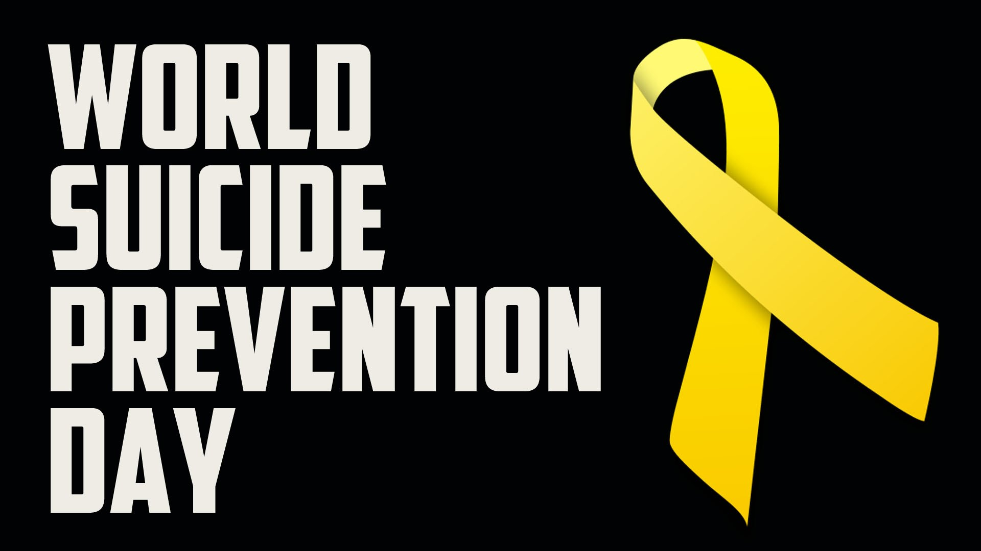 Events taking place in GP to mark World Suicide Prevention Day