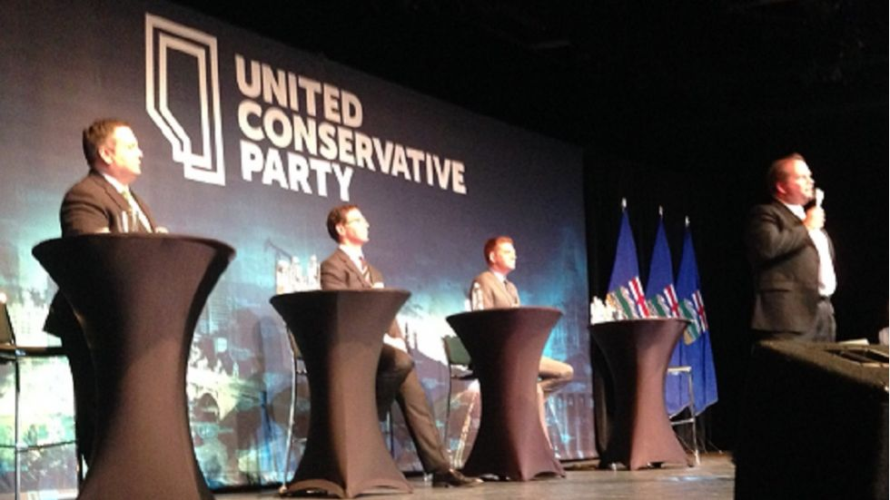 UCP holds leadership debate in Red Deer