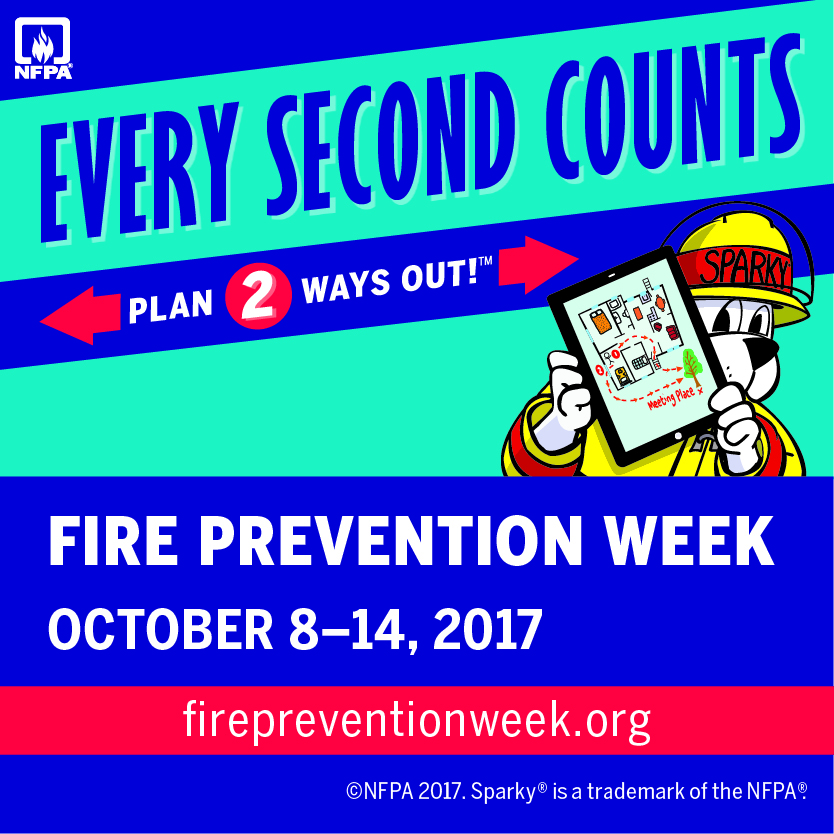 Fire Prevention Week in Grande Prairie
