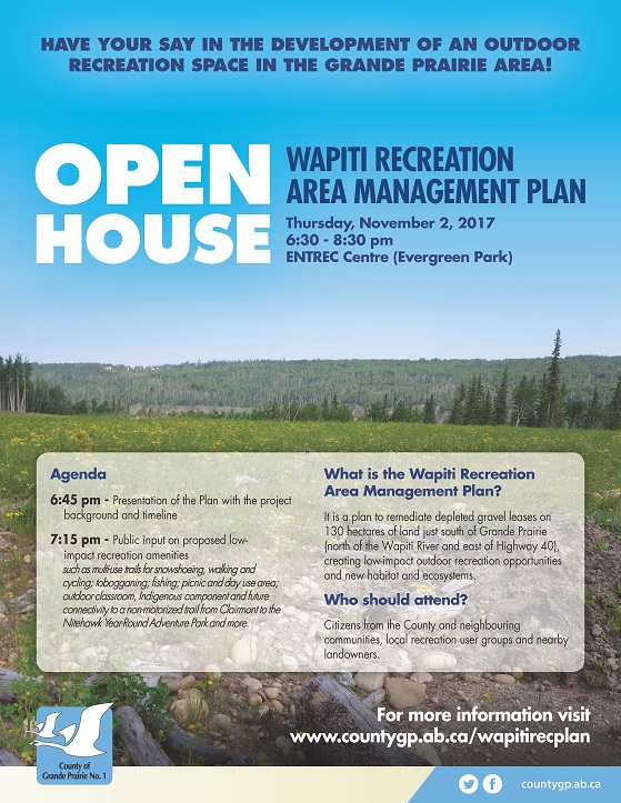 County's Wapiti Rec Area open-house tonight