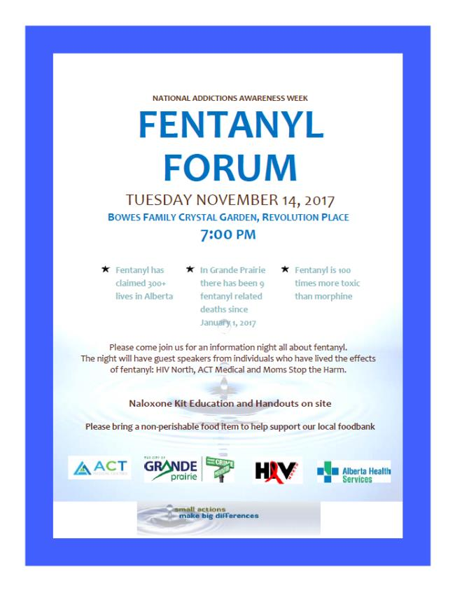Fentanyl forum to connect community members with agencies