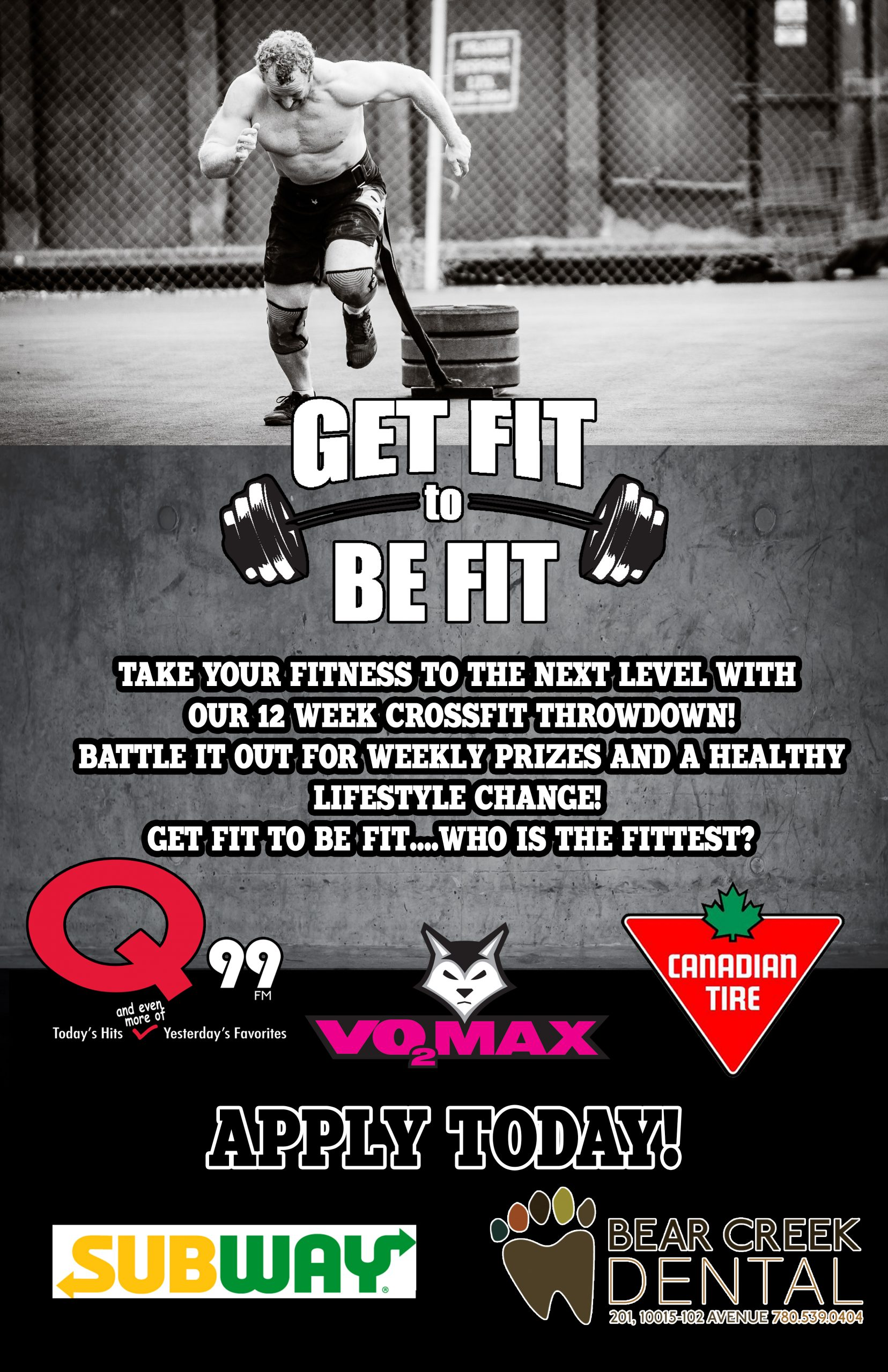 Get Fit to Be Fit