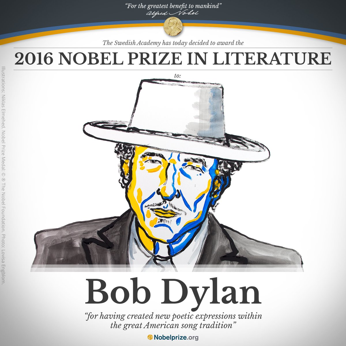 Bob Dylan Finally Talks About His Nobel Prize