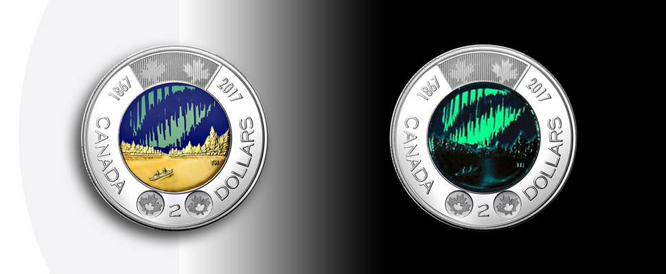 Glow In The Dark Toonie