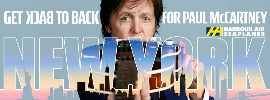 Back to Back for McCartney