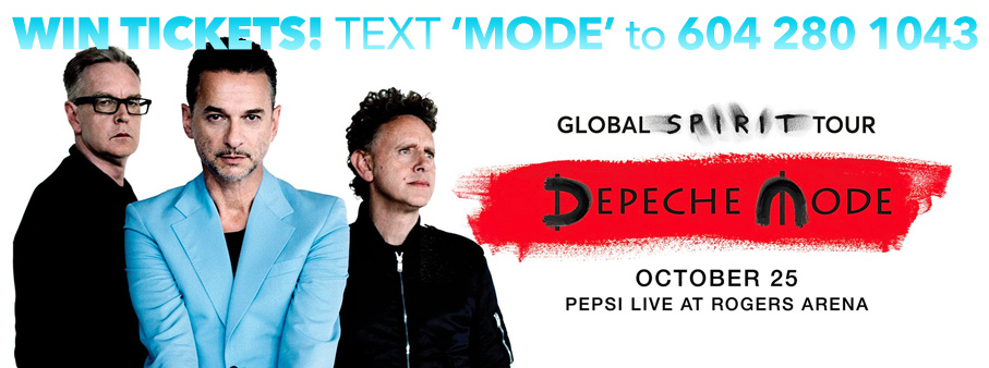 Win Tickets to Depeche Mode