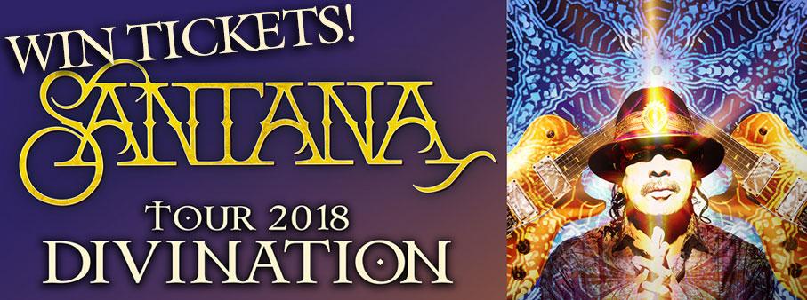Santana Saturdays – Win Tickets!