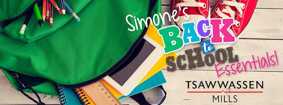 Simone's Back to School Essentials