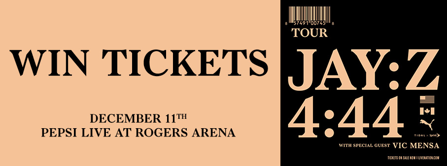 Win JAY-Z Tickets to his December 11 Vancouver Concert