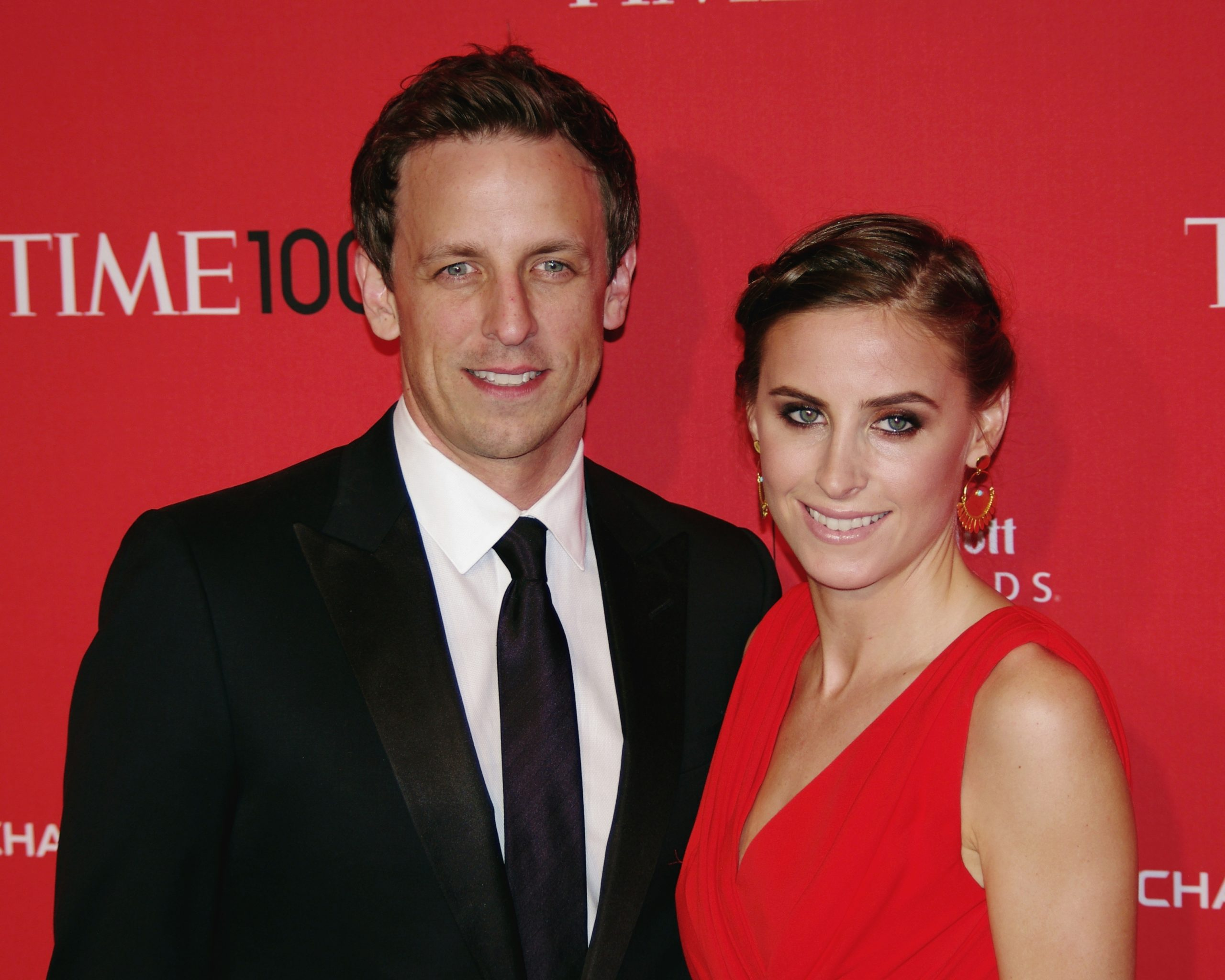 Seth Meyers' Wife Gave Birth in Their Apartment Lobby - Listen To Him Tell The Story Here