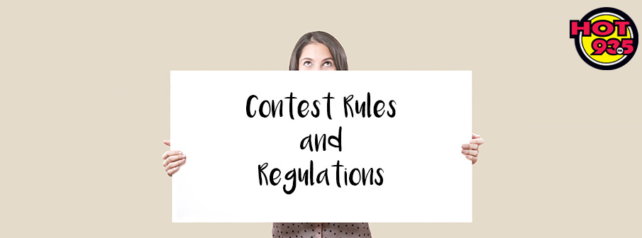 General Contest Rules and Regulations