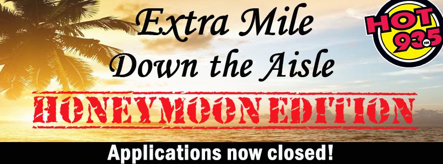 Extra Mile Down The Aisle: Honeymoon Edition