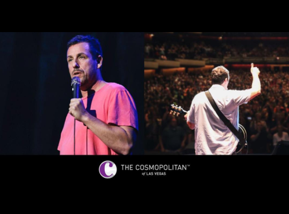 ADAM SANDLER IS HEADING TO VEGAS!
