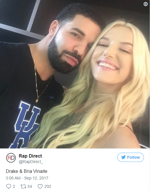 DRAKE HAS A NEW LADY IN HIS LIFE...