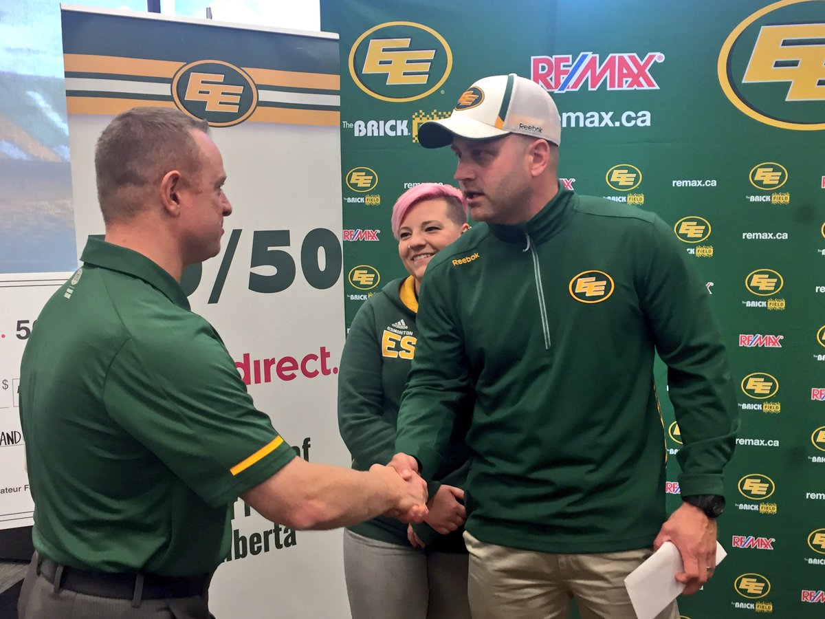 HERE ARE THE WINNERS OF THE BIGGEST 50-50 JACKPOT IN CFL HISTORY